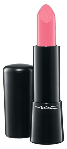 "for the perfect pink lip try, ""be fabulous"" by M·A·C"