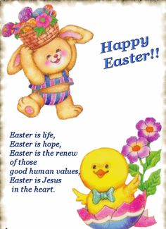 Happy Easter Poems 2019 For Students Kids Children : Jesus Short Easter Poems For Churches Easter Poems, Happy Easter Quotes, Easter Prayers, Happy Easter Wishes, Happy Easter Greetings, Happy Easter Day, Inspirational Easter Messages, Easter Greetings Messages, Diy Birthday Gifts For Sister