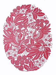 Paper Cutting Patterns, Stencil Patterns, Pattern Art, Art Patterns, Diy And Crafts, Paper Crafts, Ukrainian Art, Russian Folk, Deco
