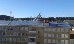 Koulutuskeskus Salpauksen ikkunasta otettu kuva