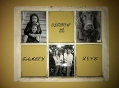 Barn Window picture Frame