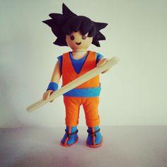 Goku - Dragon ball - custom playmobil