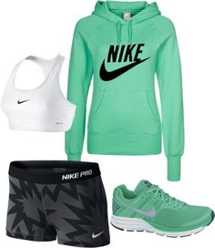 """workout"" by marygalligan on Polyvore"