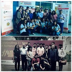 Galgotias students in Singapore to attend the conference dated 24-26 January representing Galgotias University on a Global a front. #galgotiauniversity