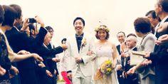 2shot / ツーショット / ドレス/ crazy wedding / ウェディング / 結婚式 / オリジナルウェディング/ オーダーメイド結婚式マンマミーア/ Mamma Mia!/野外フェス/