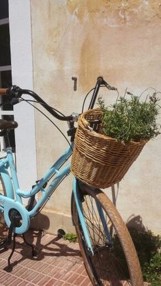 Blue bicyckle