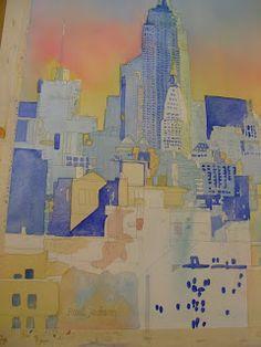 GENIE EVEN: A Paul Jackson Workshop Paul Jackson, Workshop, Watercolor, Painting, Pen And Wash, Atelier, Watercolor Painting, Work Shop Garage, Painting Art