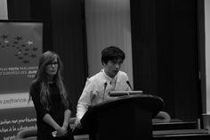 LIBE's summation speech held by Jussi Hakosalo and Aleksandra Skiba.
