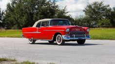1955 Chevrolet Bel Air Convertible presented as Lot R408 at Kissimmee, FL