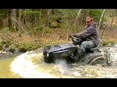 Mudding Mower Water Boggin = Promise I'm Duck Dynasty