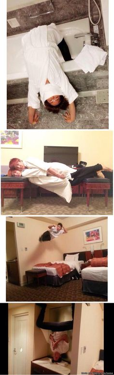 1st pic = Jin ~~~ 2nd pic = Jhope on top of Suga (that's not weird at all... #poorSuga) ~~~ 3rd + 4th pic = Jimin