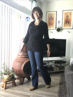 Stitch Fix pants with a top a wear a lot.