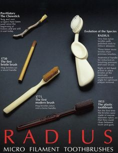The Brushed-up History of the Humble Toothbrush #FrandsendDental