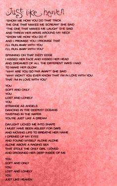 • mine lyrics MY EDIT the cure just like heaven kiss me kiss me kiss me sexeyemakeup •