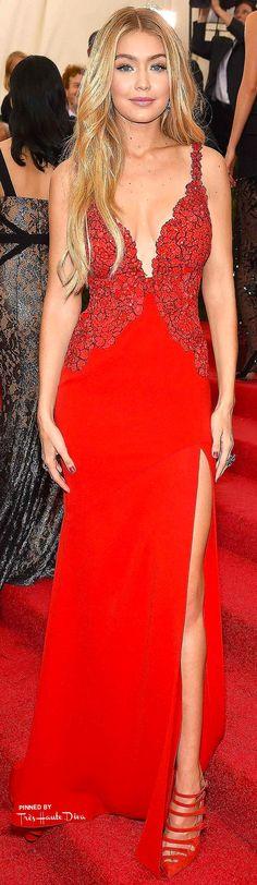 Gigi Hadid in Diane von Furstenberg♔ Très Haute Diva ♔
