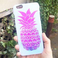 Frisky Pineapple iPhone Case