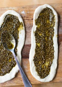 Grilled Lebanese Flatbread Recipe — Dishmaps