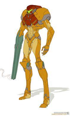 hurridoodles:  samus!! unnnffff Metroid Samus, Samus Aran, Game Character, Character Design, Zero Suit Samus, Shadow Of The Colossus, Sci Fi Armor, Weapon Concept Art, Video Game Art