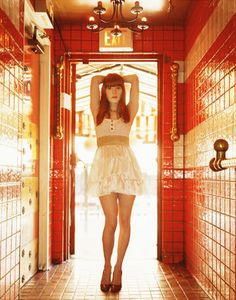 Jenny Lewis - I saw her support Bright Eyes at Royal Albert Hall, her voice bought tears to my eyes it was just so beautiful. Hugely talented and so pretty