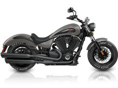 2016 Victory Gunner Motorcycle - Suede Titanium : Features