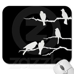 Bird silhouette graphics for custom outside decal