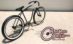 rat rod cruiser bicycles - Google Search