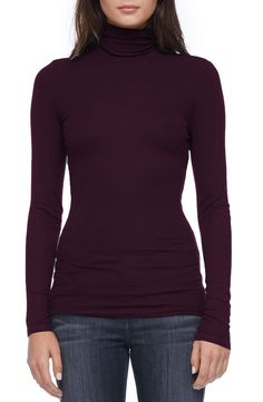 Michael Stars Rib Knit Turtleneck available at #Nordstrom