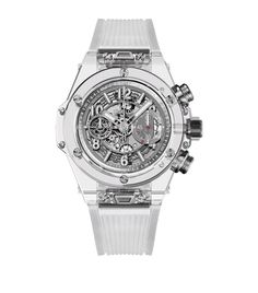 Accessories: Fine Watches Hublot Big Bang Unico Sapphire Watch