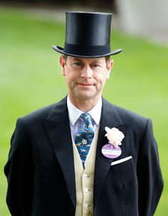 Prince Edward, Earl of Wessex attends day 2 of Royal Ascot at Ascot Racecourse on June 2015 in Ascot, England. (Photo by Max Mumby/Indigo/Getty Images) King Queen Princess, Louise Mountbatten, Viscount Severn, Lady Louise Windsor, Isabel Ii, Prince Edward, Royal Ascot, Ascot England, Queen Elizabeth Ii