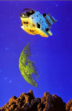 TIM WHITE - art for Star Hammer by Christopher Rowley - 1987 Century Books