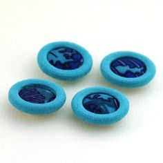 gorgeous handmade buttons in 60s style