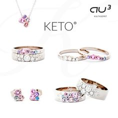 The Keto Meadow basic collection is made of 750 white gold, bright tw/vs diamonds and colorful sapphires. Find your favourite piece of jewelry in the elegant and playful Keto Meadow jewelry collection! Boho Jewelry, Jewelry Accessories, Fine Jewelry, Jewelry Design, Jewelry Making, Antique Rings, Antique Jewelry, Vintage Jewellery, Pink Sapphire Ring