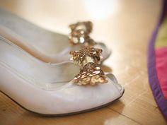 DIY Holiday: Sequin Shoe Clip