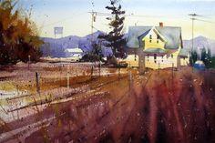 """Sunset near Mt. Vernon"" by Ron Stocke"