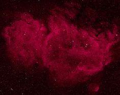 Soul Nebula (Sharpless 2-199, LBN 667) is emission nebulae in Cassiopeia. / В съзвездието Касиопея се намира една голяма област на звездообразуване, наречена мъглявината Душа. Мъглявината е разположена на 6500 светлинни години от нас, а размерът и е около 100 светлинни години. В мъглявината се намира мощен радиоизточник, известен като W5.