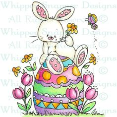 Benson - Easter - Holidays - Rubber Stamps - Shop