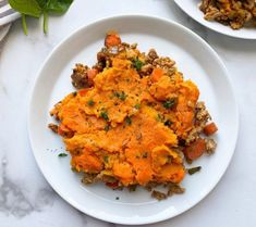 WHOLE30 SHEPHERD'S PIE Healthy Christmas Recipes, Best Paleo Recipes, Whole 30 Recipes, Dairy Free Recipes, Fall Recipes, Potato Toppings, Healthy Comfort Food, Stuffed Green Peppers, Large Oven