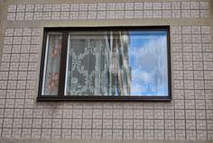 Erikoinen seinäelementti, Runosmäki, Turku | A curious wall element, Runosmäki, Turku @Kaupunkikuvailmiö