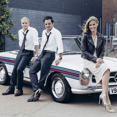 Bringing @martini_official style to racing with @massafelipe19, @valtteribottas, @barrefaeli, @undervoodoo