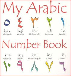 My Arabic Number Book By: Publisher: Dar us Salam Hardcover, 29 pages Alternate SKU: 9789960732589 The Words, Arabic Alphabet For Kids, Learn Arabic Online, Arabic Phrases, Arabic Lessons, Learn Islam, English Language Learning, Arabic Language, Learning Arabic