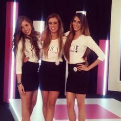 Andrea, Rosina y Hassnel son las finalistas de Chica E! Venezuela 2013