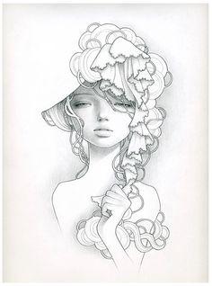 Audrey Kawasaki #illustration