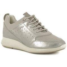 klassieke Geox d621cb dames sneakers (Grijs)