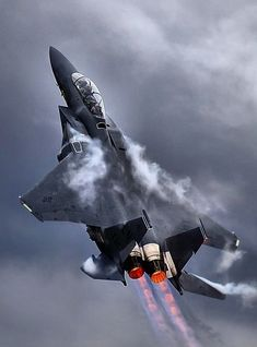 F-15 B or D in 5th stage afterburner