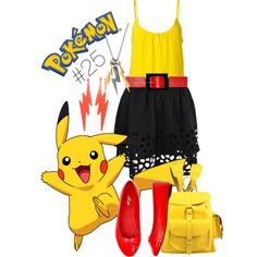 Pikachu - Polyvore