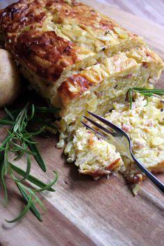 A Traditional Potthucke German Potato Cake | Foodal.com German Potatoes, Potato Cakes, Traditional, Lasagna, Quiche, Lasagne, Potato Patties