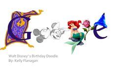 walt disney google doodle - Google Search