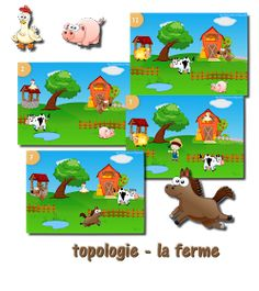 La maternelle de Laurène: Topologie - la ferme