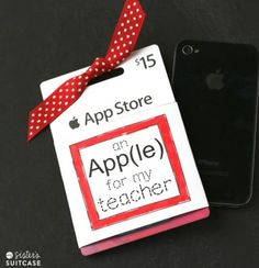 itunes gift card teacher printable from my sister's suitcase