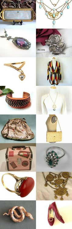 WEDNESDAY #VINTAGE #VOGUE TEAM FINDS by Tiffany on Etsy, www. PeriodElegance.etsy.com